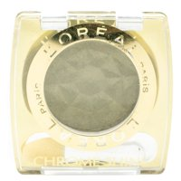 L'Oreal CHROME SHINE Eye Shadow, 178 Jade Silver  .12oz