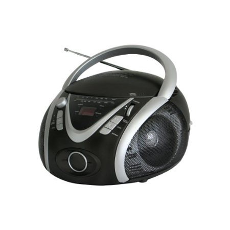 Naxa NAXNPB246B NAXA Electronics NPB-246 Portable MP3-CD Player with AM-FM Stereo Radio and USB Input