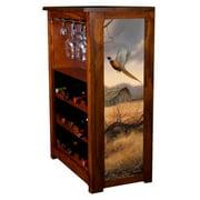 """""""Prairie Wings"""" Wine Cabinet"""