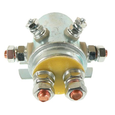 DB Electrical SPL6029  Solenoid For Winch Golf Cart Silver Contacts 6 Term 12 Volt, Continuous Duty /Prestolite 15-323 /Dayton 92-20172 /Superwinch and Hydraulic (Hydraulic Planetary Winches)