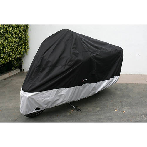 """Formosa Covers Deluxe all season Motorcycle cover (XL). Fits up to 94"""" length Medium cruiser, Large sport bike."""
