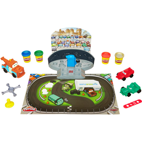 Disney Cars 2 Play-Doh Mold 'n' Go Speedway