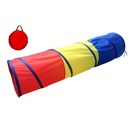 POCO DIVO 6-ft Play Tunnel Kids Tent Children Pop-up Toy Tube