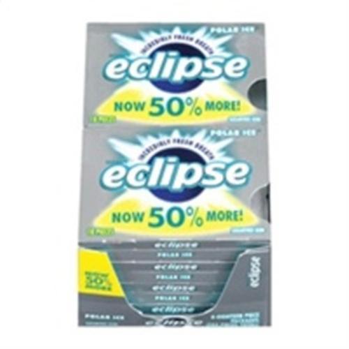 Eclipse  Sugar Free Gum Polar Ice 8 packs (18 ct per pack) (Pack of 3)