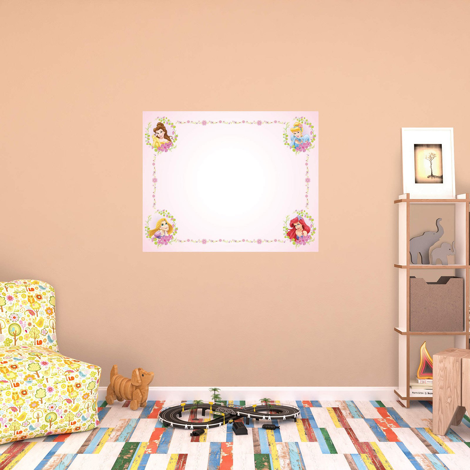 Fathead Disney Princess Dry Erase Whiteboard Wall Decal