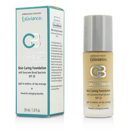 Exuviance Skin Caring Foundation Bisque - Exuviance - CoverBlend Skin Caring Foundation SPF20 - # Classic Beige -30ml/1oz