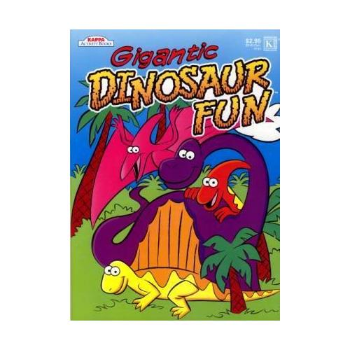 KAPPA Dinosaur Coloring & Activity Book