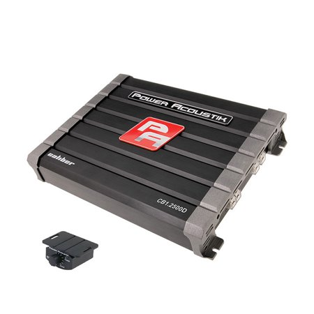 Power Acoustik Caliber Class D 2500W Amplifier