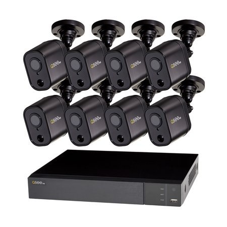 Q-See 16 Channel HD Security DVR system with 8-1080p PIR Bullet Cameras and 2TB Hard (Best Hard Drive For Dvr Expansion)