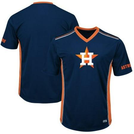 Men's Majestic Navy/Orange Houston Astros Big & Tall Memorable Moments