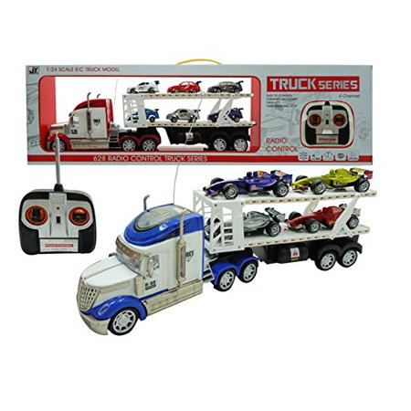 Hauler Truck - F1 Hauler Semi-Trailer 1:24 Electric RTR 628 4CH RC Truck Series(color may vary)