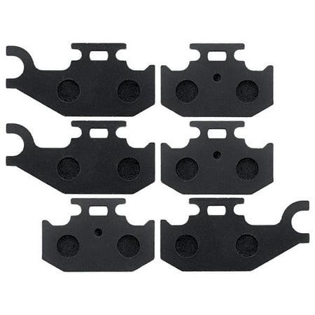 KMG Front + Rear Brake Pads for 2009-2010 CAN AM Outlander 800 R XT - Non-Metallic Organic NAO Brake Pads Set - image 2 of 4
