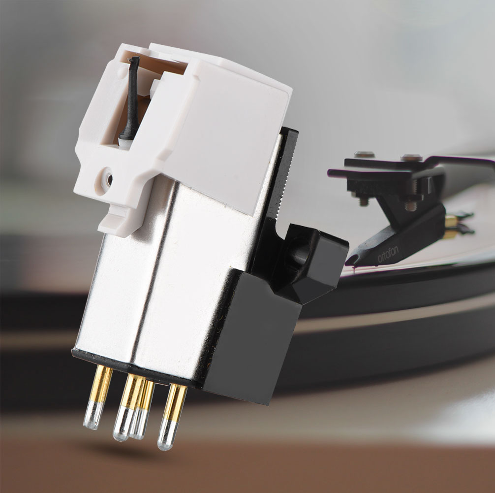 Fosa Magnetic Cartridge Stylus with LP Vinyl Needle for Turntable Record Player ,Turntable Record, Cartridge Stylus