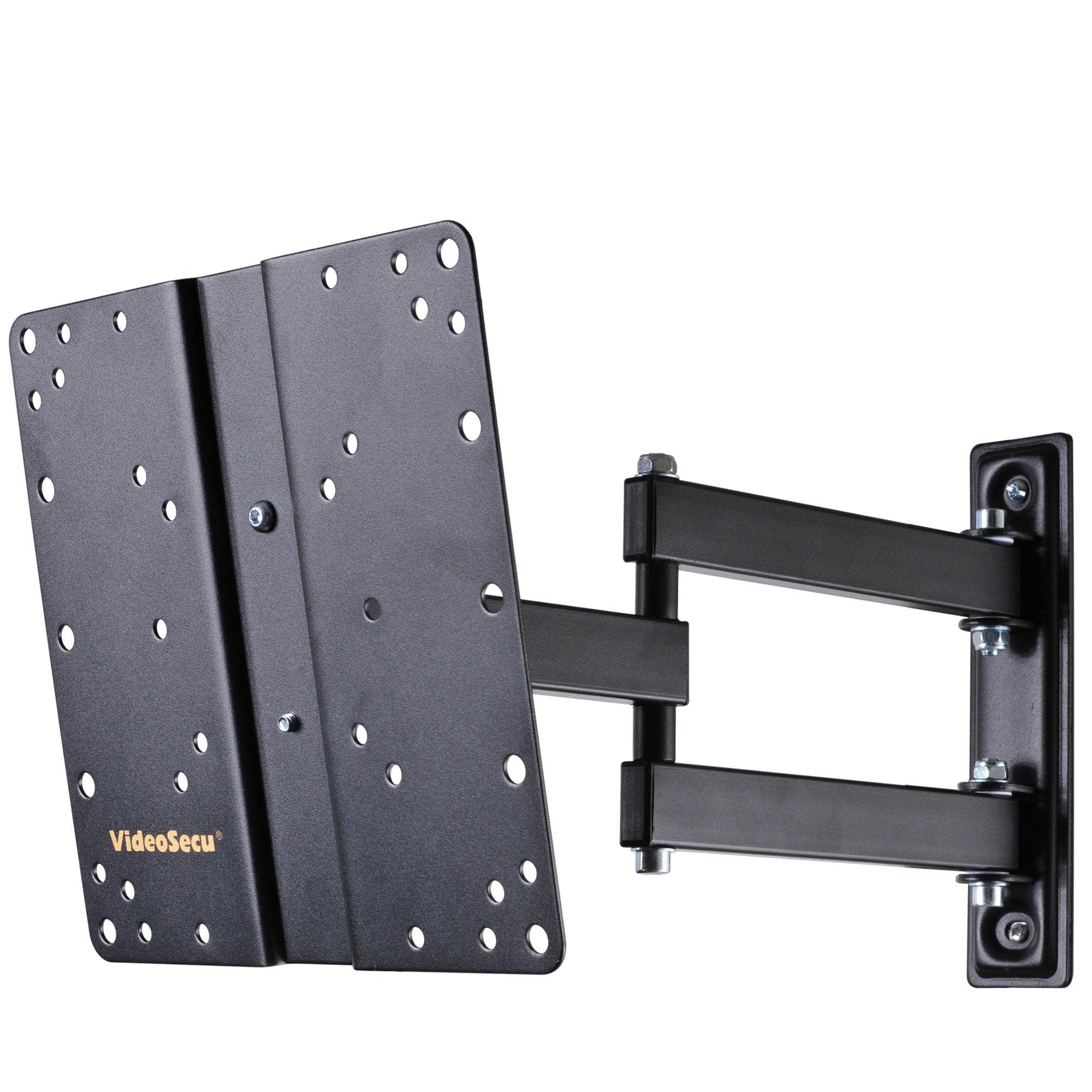"""VideoSecu Full Motion TV Wall Mount for 24 26 28 29 32 40 42"""" SAMSUNG VIZIO LCD LED HDTV Tilt Swivel Bracket ML510B B65"""