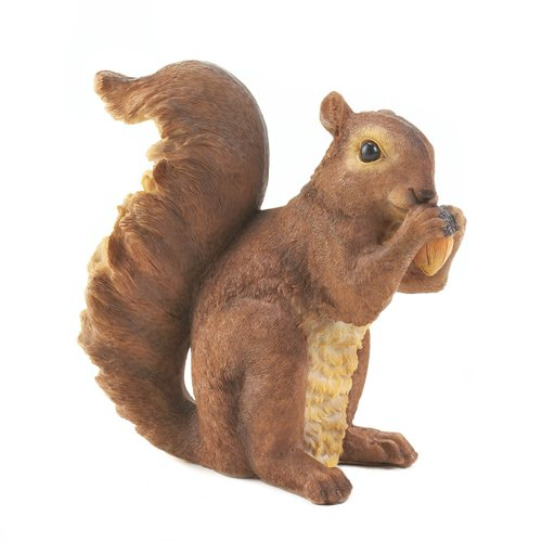 Zingz & Thingz Nibbling Squirrel Garden Statue