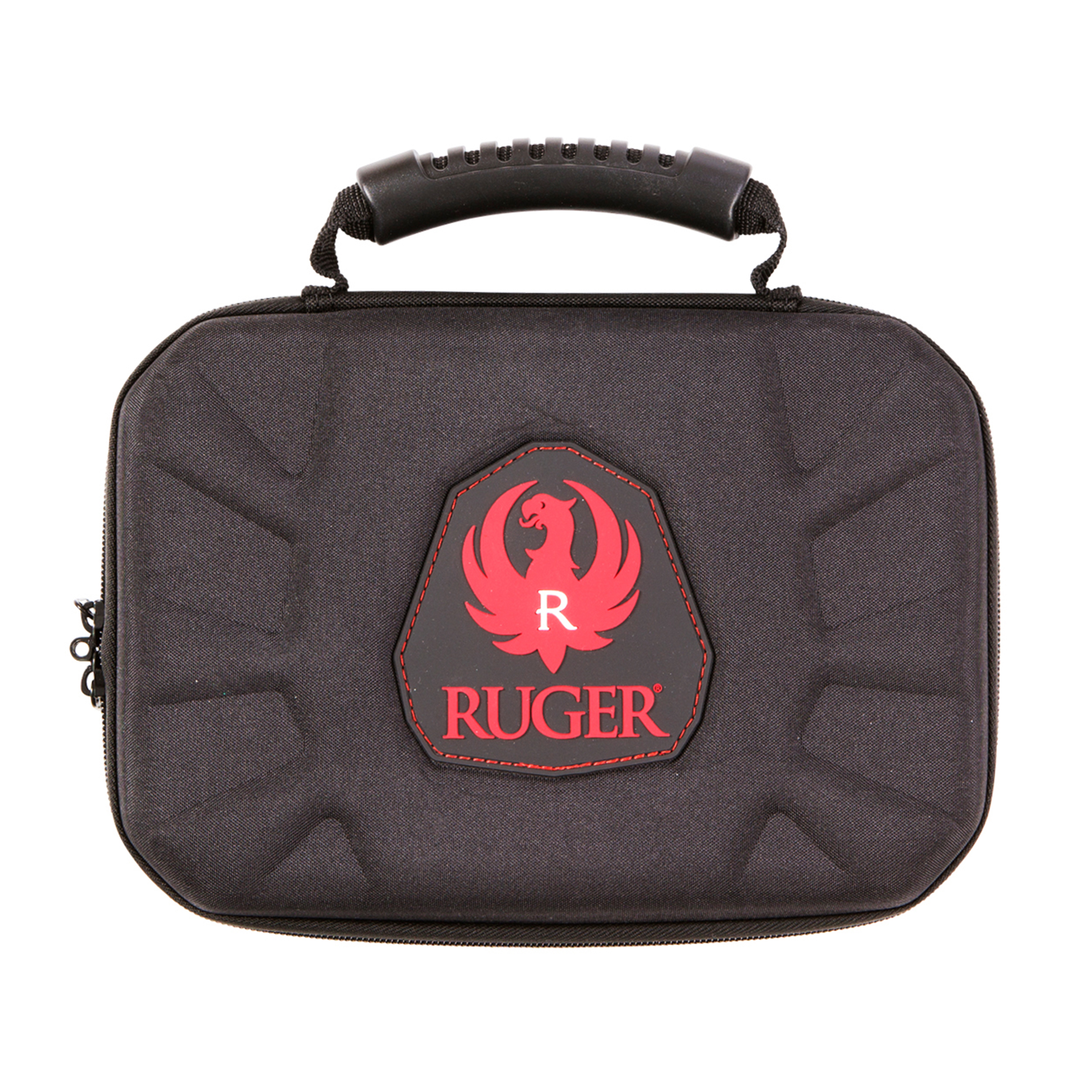 "Allen Cases Ruger Blockade Molded Handgun Case 12"" Black/Red"