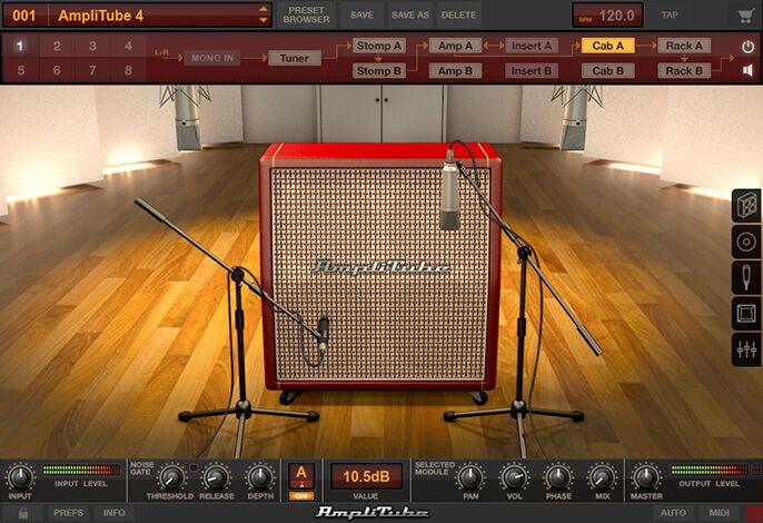 IK Multimedia AmpliTube 4 software download by IK Multimedia