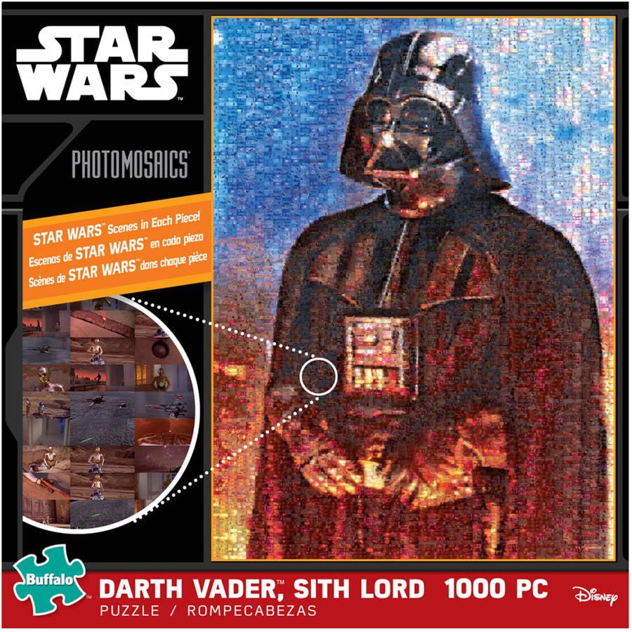 Star Wars Photomosaics Puzzle, Darth Vader, Sith Lord, 1000 Pieces