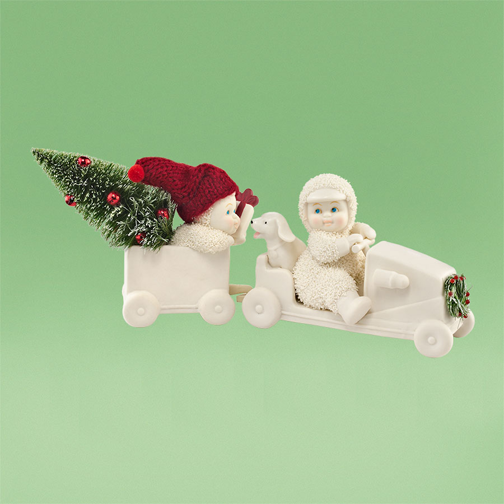 Department 56 Snowbabies 4031798 The Christmas Coupe