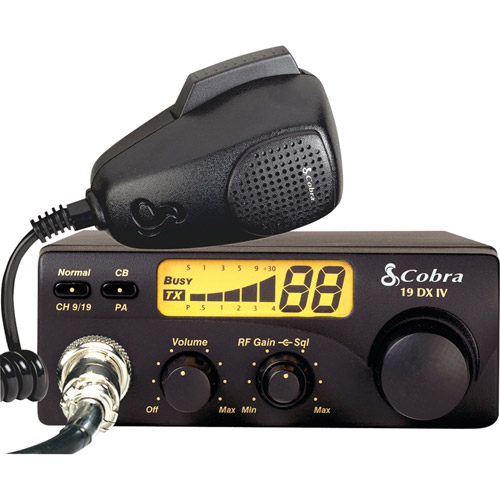 Cobra Electronics 19 Dx Iv 40-channel Compact Cb Radio