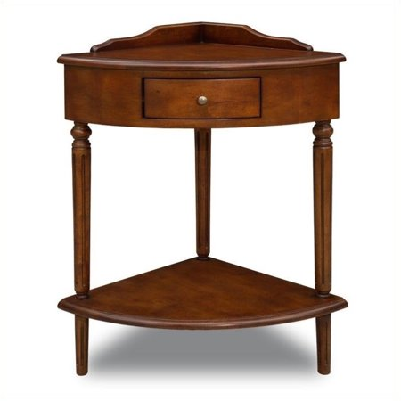 - Bowery Hill Corner Table in Russet