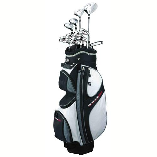 Prosimmon Golf X9 Mens Graphite & Steel Hybrid Club Set & Bag