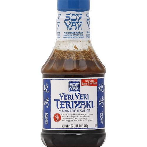Soy Vay Veri Veri Teriyaki Marinade & Sauce, 21 oz, (Pack of 6)