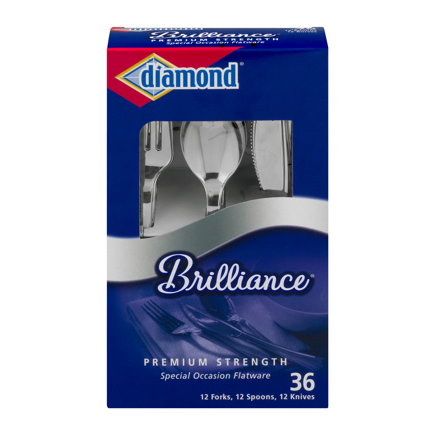 Diamond Brilliance Special Occasion Flatware - 36 CT36.0 CT