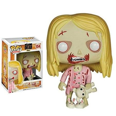 Funko Pop! TV Walking Dead, Teddy Bear Girl](Girl Walking Dead)