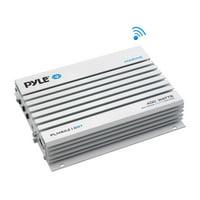 Pyle PLMRA210BT - Elite Series Waterproof Bluetooth Amplifier, Bridgeable 400 Watt 2-Channel Amp