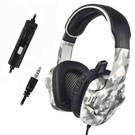 SADES SA-708 GT Surround Gaming Headset Headphone for PC PS4 Xbox One With