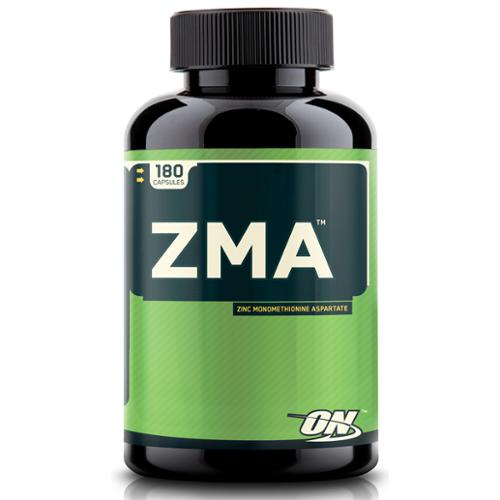 Optimum Nutrition ZMA Caps Zinc Monomethionine Aspartate Capsules | 180 Count