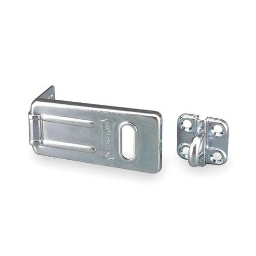 MASTER LOCK 702D Hasp, Steel, Zinc Plated, 1-1 4 In. W by Master Lock