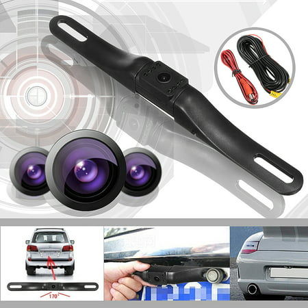 Waterproof 170° Car Rear View Mount Backup Reverse  Parking Camera Night Vision LED CCD