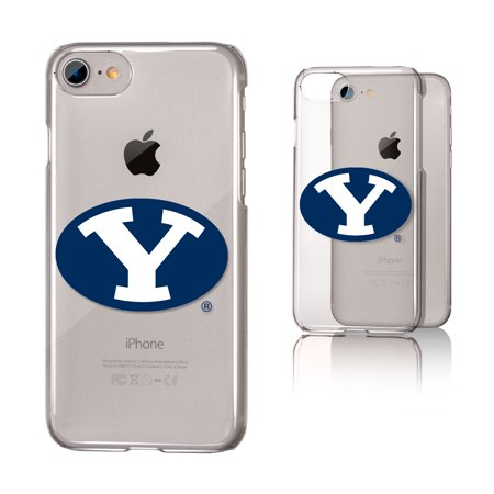 BYU Brigham Young Cougars Insignia Clear Case for iPhone 8 / 7 / 6