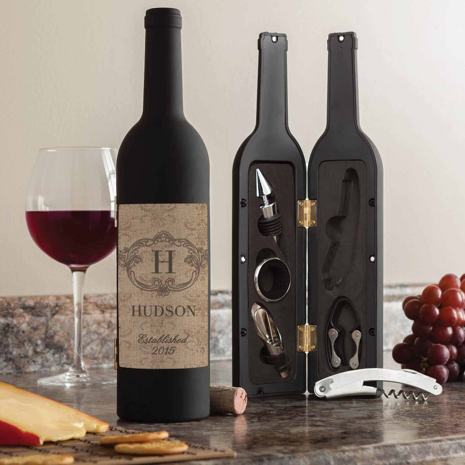 Personalized Wine Kit - Vintage Family
