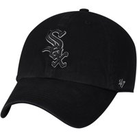 48b0771a4bd Product Image Chicago White Sox  47 Team Color Clean Up Adjustable Hat -  Black - OSFA