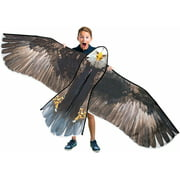 GEX Bald Eagle Huge Kite 70'' for Kids and Adults Single Line String Easy to Fly for Beach Trip Park Family Outdoor Games and Activities