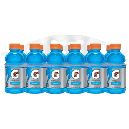 Gatorade Thirst Quencher Sports Drink, Cool Blue, 12 Fl Oz, 12 Count (Cheap Sports)