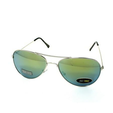 (3 Pack) AIR FORCE Aviator Color Mirror Sunglasses Mirror (T Force Sunglasses Price)