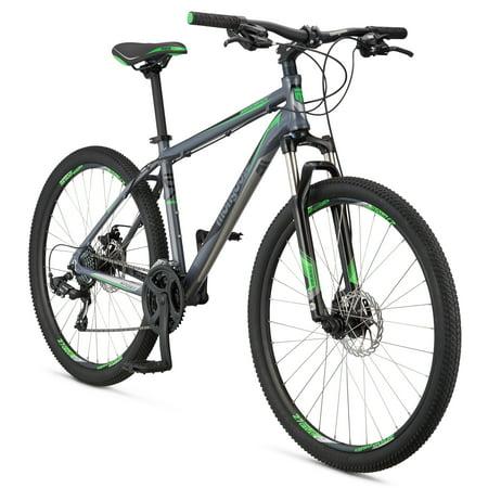 "Mongoose Switchback Sport 27.5"" Men's Hardtail Mountain Bike, Silver, Small"