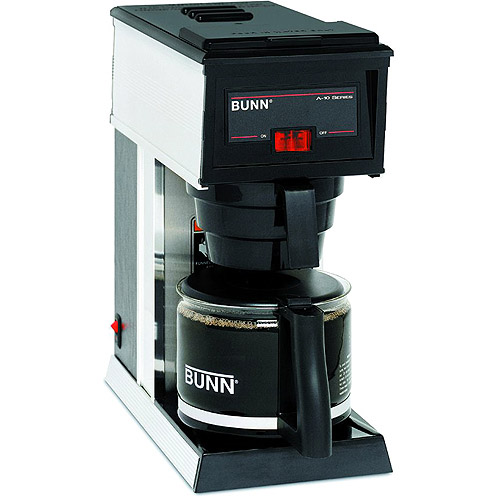 Bunn A 10 10 Cup Commercial Pourover Coffee Brewer Black