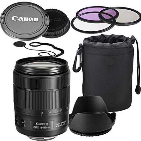 Canon EF-S 18-135mm f/3.5-5.6 Image Stabilization USM Lens (White Box)