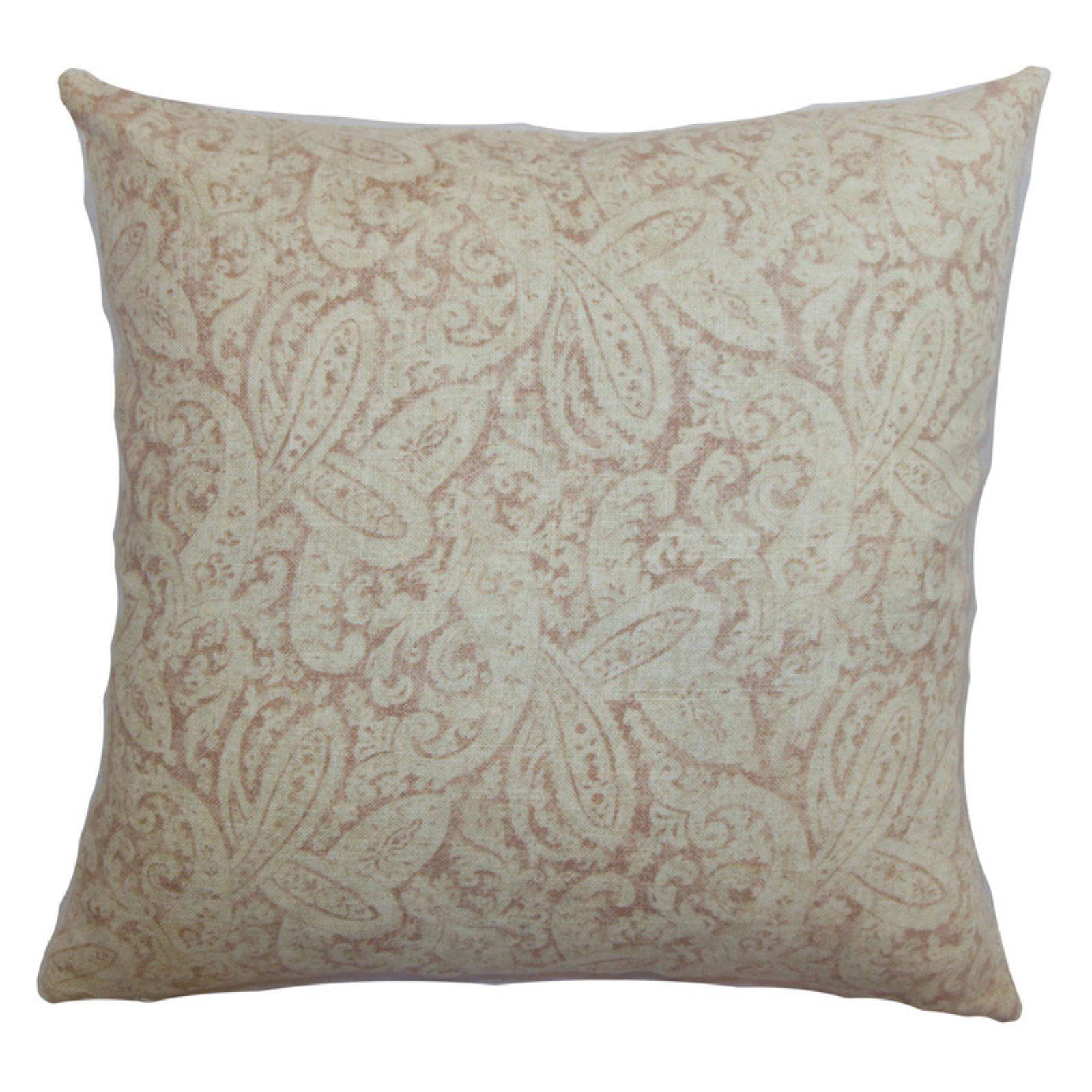 The Pillow Collection Benigna Paisley Pillow