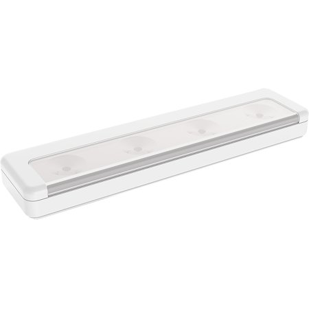 Brilliant Evolution BRRC116 Wireless Ultra Thin LED Light Bar - Operates On 3 AA Batteries - Kitchen Under Cabinet Lighting (Battery Operated Lights For Costumes)