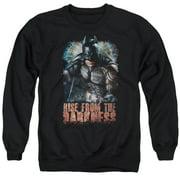 Dark Knight Rises Rise From Darkness Mens Crewneck Sweatshirt