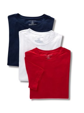 Men's Tommy Hilfiger 09T3147 Cotton Stretch Crew Neck T-Shirts - 3 Pack