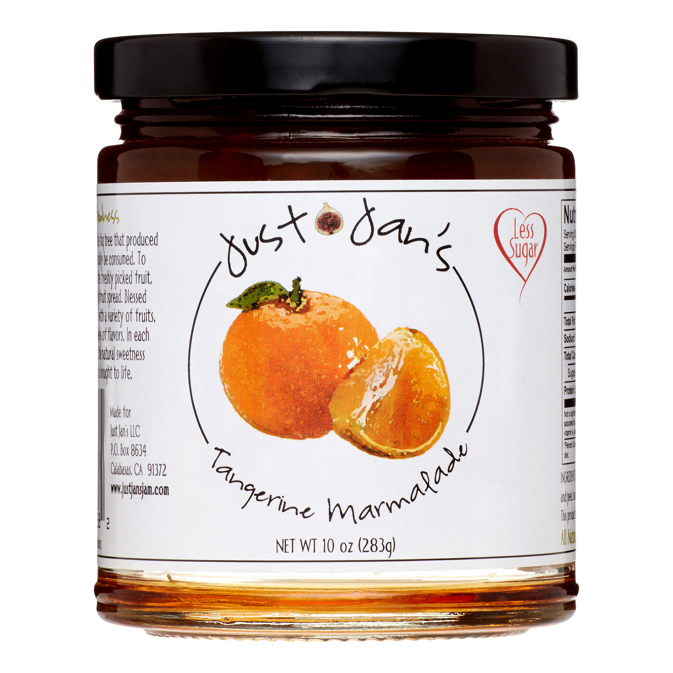 Just Jan's Marmalade, Tangerine, 10 Oz by Just Jan's
