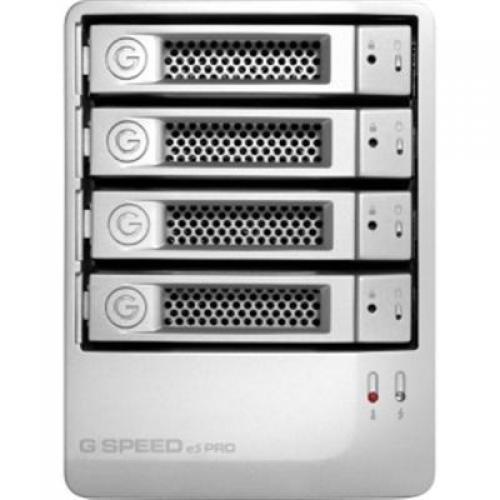 G-Technology G-SPEED eS PRO - Hard drive array - 12 TB - 4 bays ( SATA-300 ) - 4 x HDD 3 TB - SAS (external)