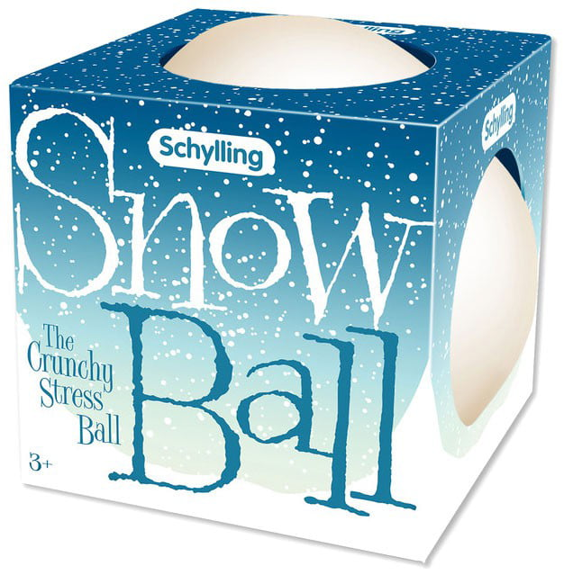 Squeezy Schylling Snow Ball NeeDoh Stretchy Stress Balls Squishy Crunchy
